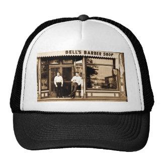 Bell's Barber Shop Vintage Americana Trucker Hats