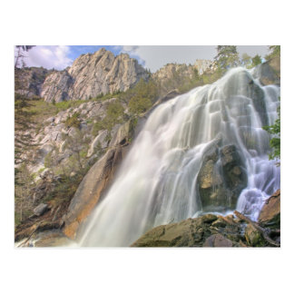 Bells Canyon Waterfall, Lone Peak Wilderness, Postcard