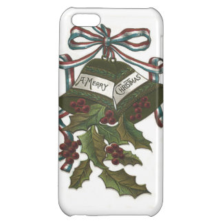 Bells Holly Red White Blue Ribbon Patriotic Case For iPhone 5C