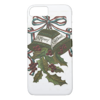 Bells Holly Red White Blue Ribbon Patriotic iPhone 7 Case