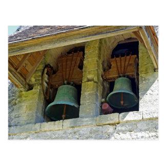 Bells in France Postcard