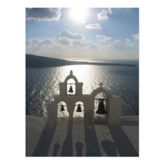 Bells in Oia Postcard