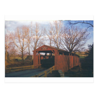 Bells Mills Covered Bridge Postcard