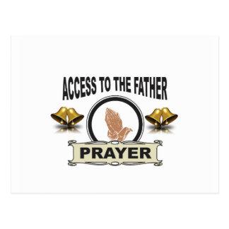 bells of prayer access postcard