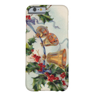 Bells Ribbon Holly Winterberry Barely There iPhone 6 Case