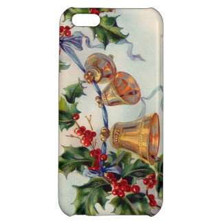 Bells Ribbon Holly Winterberry iPhone 5C Cases