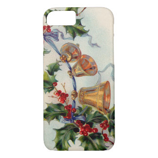 Bells Ribbon Holly Winterberry iPhone 7 Case