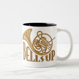 Bells Up Two-Tone Coffee Mug