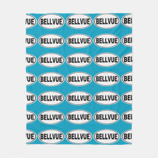 Bellvue Colorado Fleece Blanket