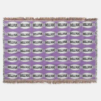 Bellvue Colorado Throw Blanket