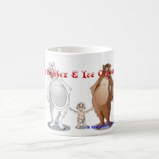 Belly Babiez & Ice Cream Bears, Basic White Mug