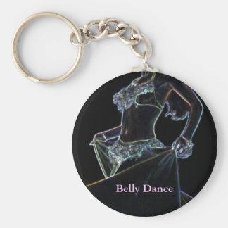 Belly Dance black Key Ring