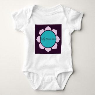 Belly Dance Diva Lotus Flower Baby Bodysuit