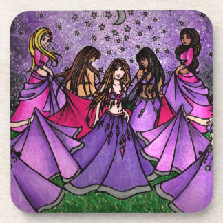 Belly Dancer Art Coaster