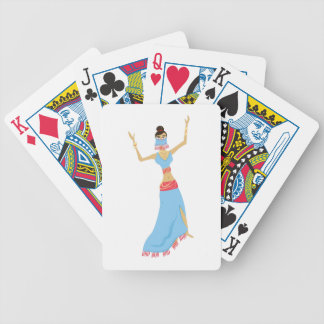 Belly Dancer Bicycle Playing Cards