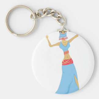 Belly Dancer Key Ring