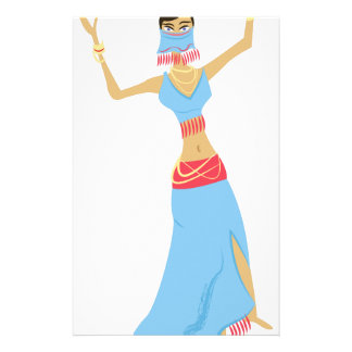 Belly Dancer Stationery