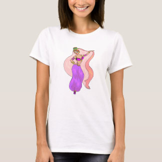 Belly Dancer - T - Tee Shirt - Exotic