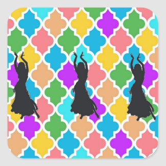 Belly Dancer Trio stickers