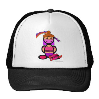 Belly Dancer (with logos) Trucker Hat