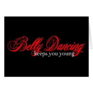 Belly Dancing Rocks Greeting Card