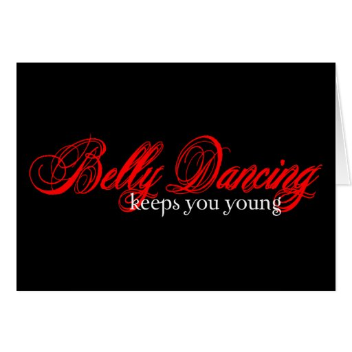 Belly Dancing Rocks Cards