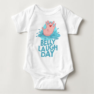 Belly Laugh Day - Appreciation Day Baby Bodysuit