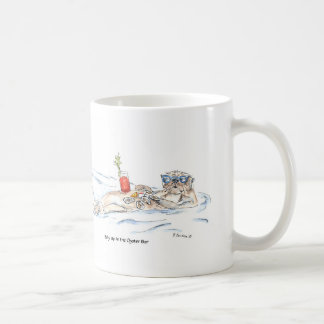 Belly Up to the Oyster Bar Coffee Mug