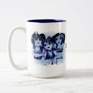Bellydance Dancers Brew Character Illustration Mug