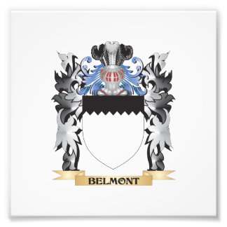 Belmont Coat of Arms - Family Crest Photo