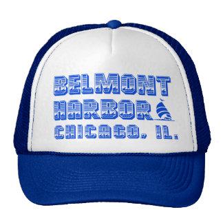 Belmont Harbor Chicago Trucker Hat