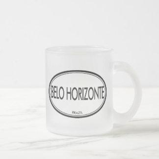 Belo Horizonte, Brazil Frosted Glass Mug