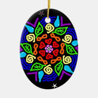 Beloved Presence Ceramic Oval Decoration