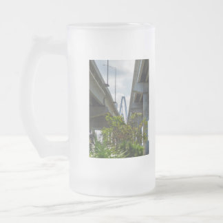 Below Arthur Ravenel Frosted Glass Beer Mug