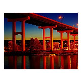 Below the Bridge Postcard