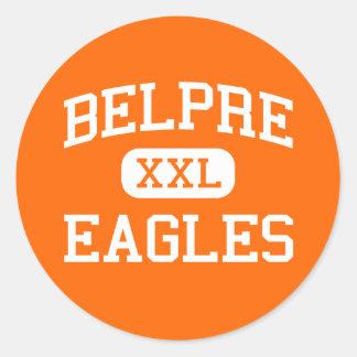 Belpre - Eagles - Belpre High School - Belpre Ohio Round Sticker