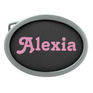 Belt Buckle Alexia