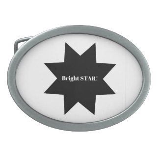 Belt buckle : Bright star!