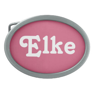Belt Buckle Elke
