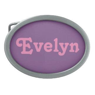 Belt Buckle Evelyn