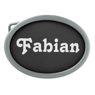 Belt Buckle Fabian