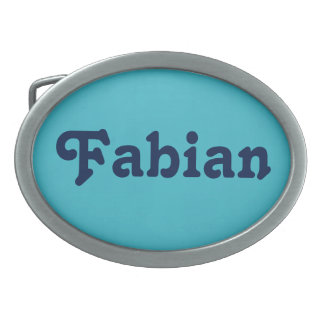 Belt Buckle Fabian
