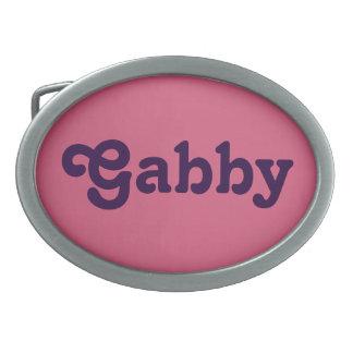 Belt Buckle Gabby