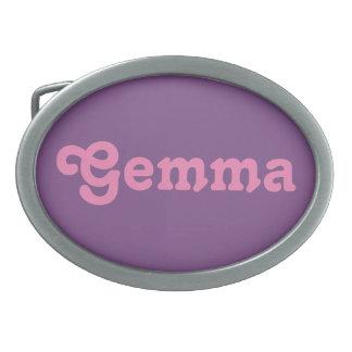 Belt Buckle Gemma