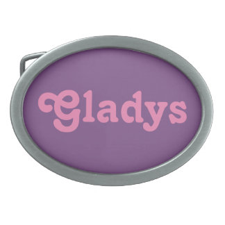 Belt Buckle Gladys