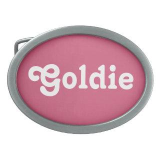Belt Buckle Goldie