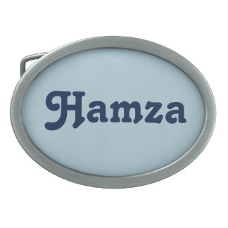 Belt Buckle Hamza