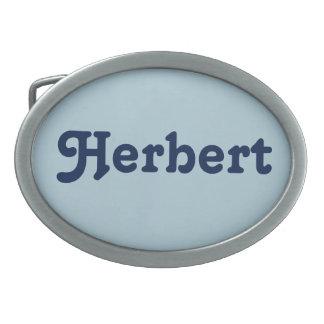 Belt Buckle Herbert