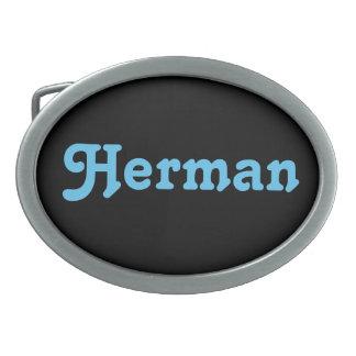 Belt Buckle Herman