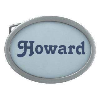 Belt Buckle Howard